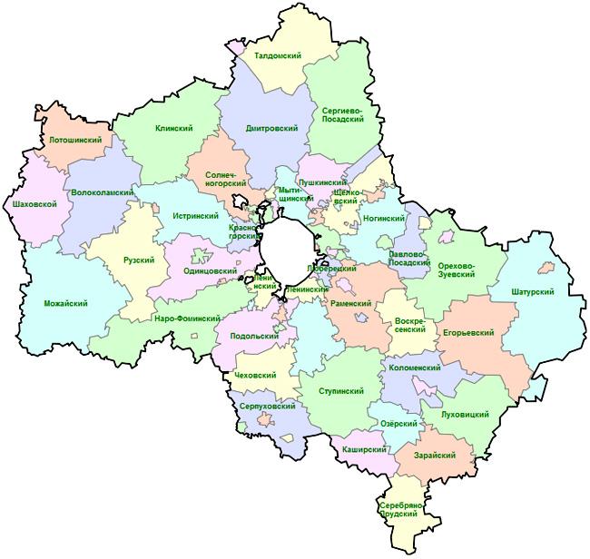 в Московской области НТВ