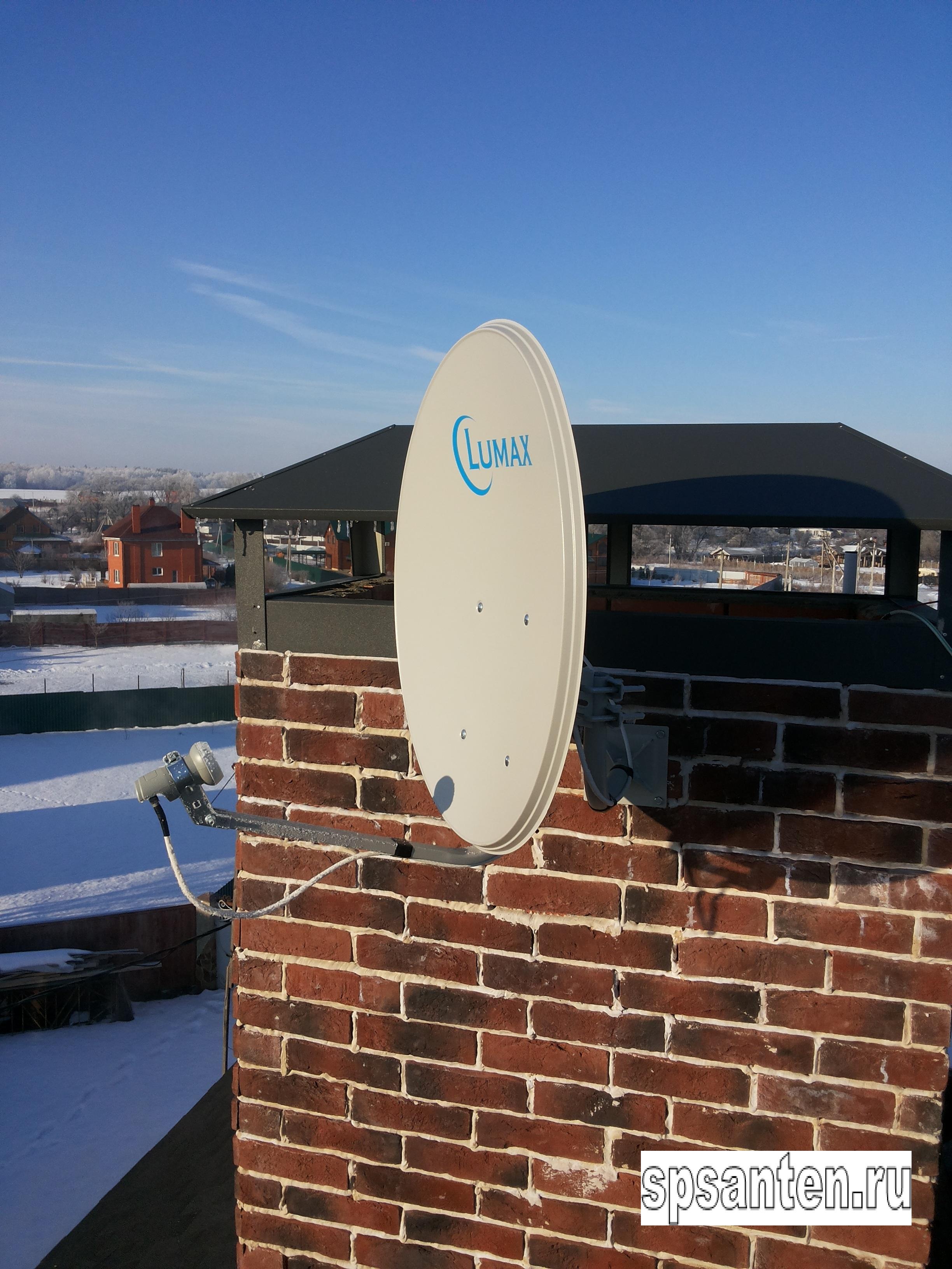 Установка антенны, подключение интернета, установка спутникового телевидения в Домодедовском районе