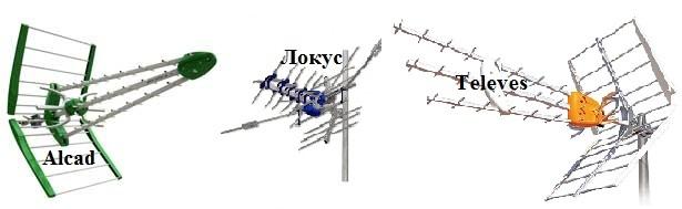 Дециметровые антенны